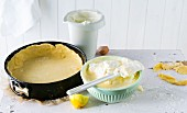 Shortcrust pastry made with stevia