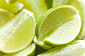 Lime wedges (close-up)