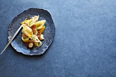 Conchiglie with fennel and oranges