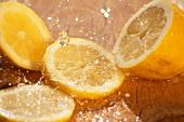 Wet lemons