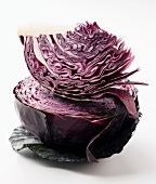 Red Cabbage; Stacked