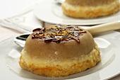 Individual Caramelized Tres Leches Cake