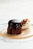 Mohr im Hemd (Austrian chocolate dessert)