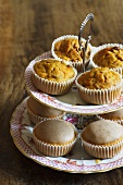 Various carrot muffins
