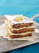 Mille-feuilles with sabayon