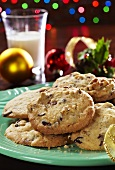 Holiday Cookie Plate; Christmas Decoration