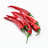 Red chillies (Capsicum annuum)