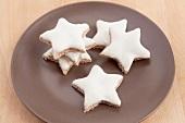 Christmas cookies, cinnamon stars