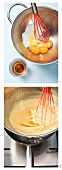 Making zabaglione