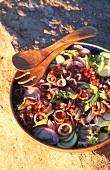 A mixed seafood salad (Corsica, France)