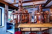 A guesthouse brewery in Klausen, South Tyrol