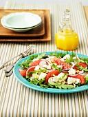 Fenchelsalat mit Grapefruit und Rucola
