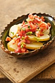 Potato salad with Pico de Gallo (Mexico)