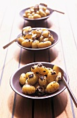 Potatoes with tapenade