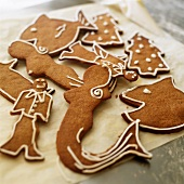 Various gingerbread shapes