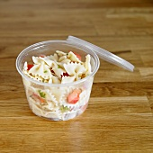 Tuscan Pasta Salad in a To Go Container