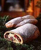 Stollen Christmas cake from Alsace