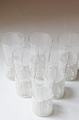 Raki glasses with holders