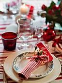 Weihnachtsgedeck