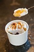 Apple meringue