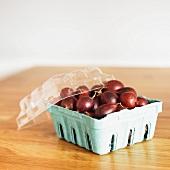 Carton of Fresh Gooseberries