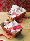 Turkish Delight in gift boxes