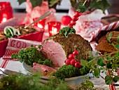 Gegrillter Weihnachtsschinken (Schweden)
