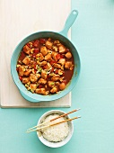 Kung Pao chicken with peanuts and chilli peppers (China)