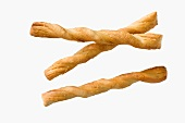 Three salty bread sticks