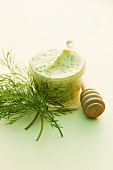 Honey-mustard butter with dill