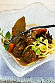 Oriental lamb curry with pumpkin