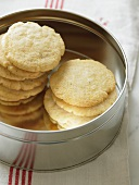 Homemade Fennel Cookies in a Tin