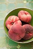 A bowl of vineyard peaches