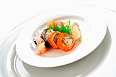 Various sushi and maki