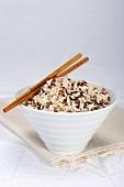 Bowl of wild rice