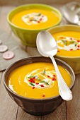 Chilli pumpkin soup