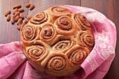 Almond rosette cake