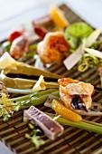 Assiette du Pecheur (Mauritian fish platter)