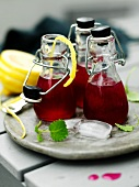 Beetroot lemonade