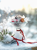 Christmas confectionery and bonbons
