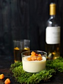 Pannacotta with cloudberries