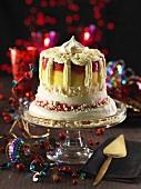 Vacherin torte for Christmas