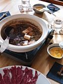 Sukiyaki (fondue, Japan)