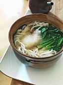 Udon soup (Japan)