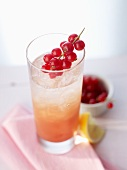 'Afternoon Hope' (cocktail) with currants