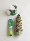 Wasabi (fresh, paste and powder)