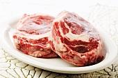 Two beefsteaks