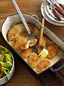 Faschierte Butterschnitzel