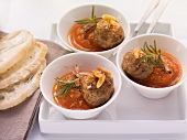 Albondigas Andaluz (Spanish meatballs in tomato sauce)