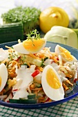Vegetable salad with eggs (Palatinate, Germany)